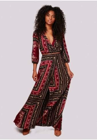 Apricot Maxikleid »Scarf Print Crepe FauxWrap Dress« kaufen