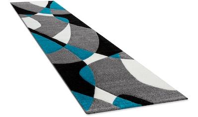 Paco Home Läufer »Diamond 664«, rechteckig, 18 mm Höhe, Teppich-Läufer, Kurzflor, gewebt, 3D-Design, mit geometrischem Muster kaufen