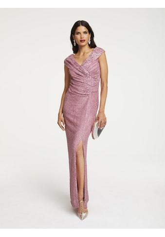 Abendkleid mit Gehschlitz kaufen