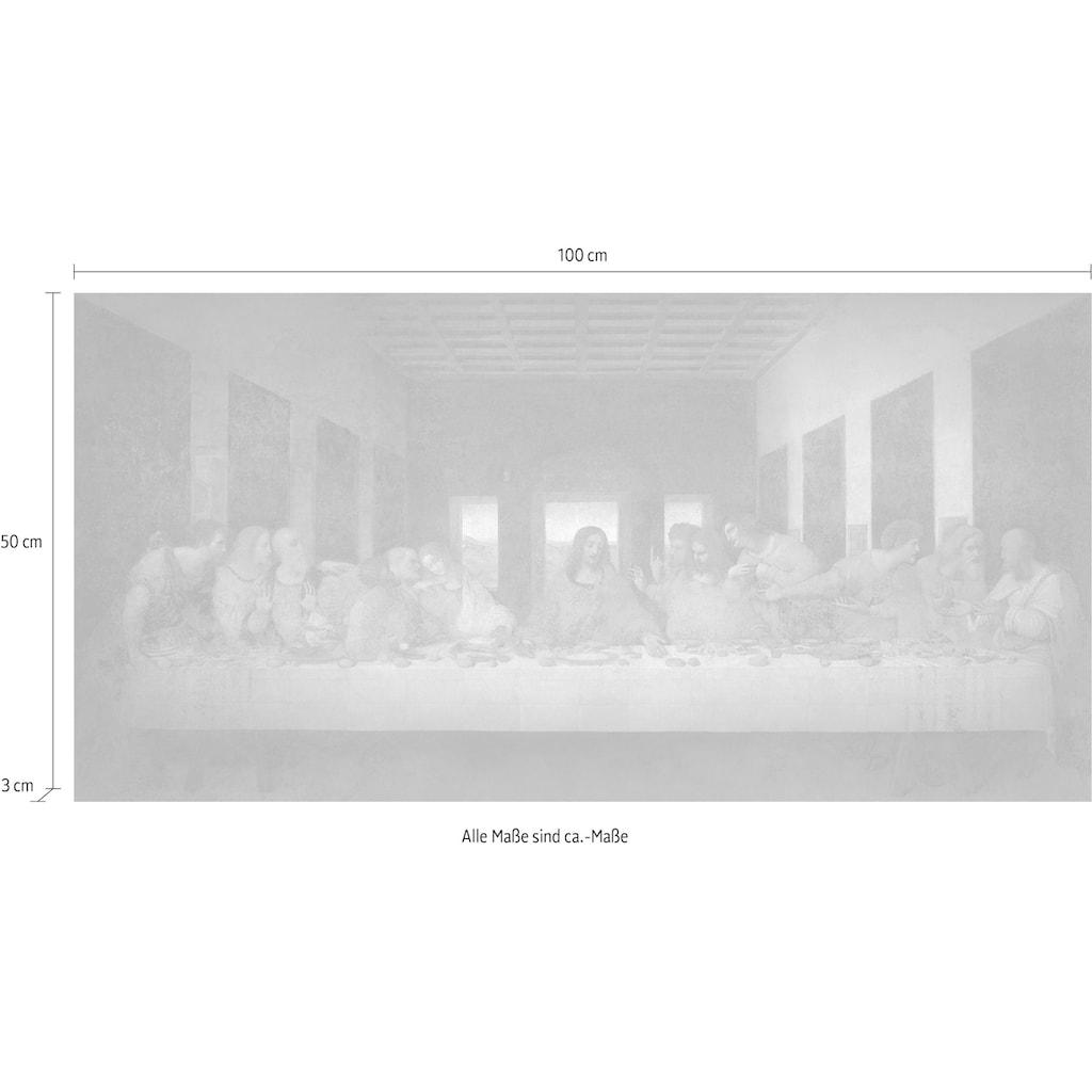 DELAVITA Deco-Panel »LEONARDO DA VINCI / Das letzte Abendmahl«, (100/3/50 cm)