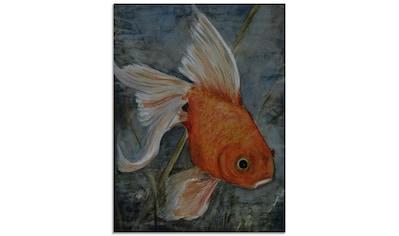 Artland Glasbild »Feng Shui - Goldfisch«, Wassertiere, (1 St.) kaufen