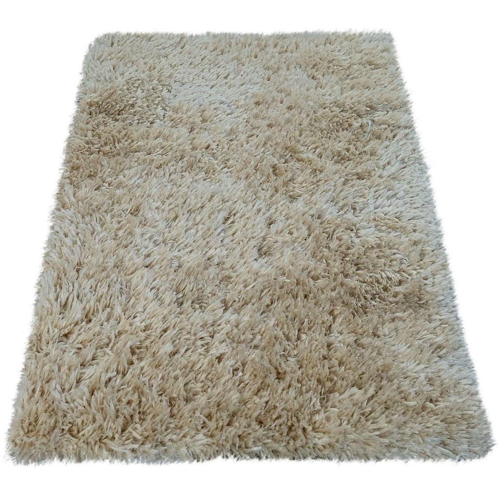 Paco Home Badematte »Kanda 360«, Höhe 45 mm, weiche Hochflor Oberfläche