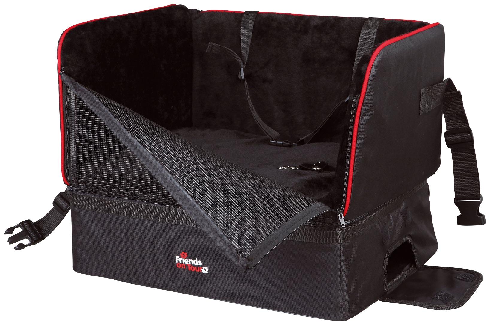 TRIXIE Hunde-Autositz schwarz Hundebetten -decken Hund Tierbedarf