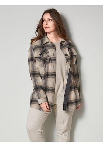 Sara Lindholm Hemdbluse, in Flanell-Optik kaufen