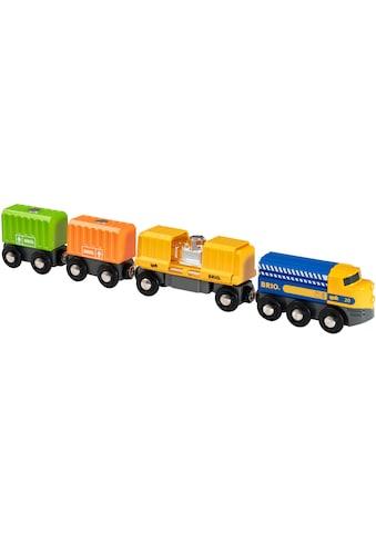 """BRIO® Spielzeug - Eisenbahn """"BRIO® Güterzug mit drei Waggons"""" kaufen"""