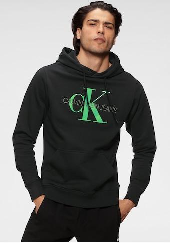 Calvin Klein Jeans Kapuzensweatshirt »MONOGRAM REGULAR HOODIE« kaufen