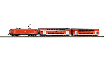 PIKO Modelleisenbahn-Set »SmartControl light Doppelstockpersonenzug DB, (59023)« kaufen