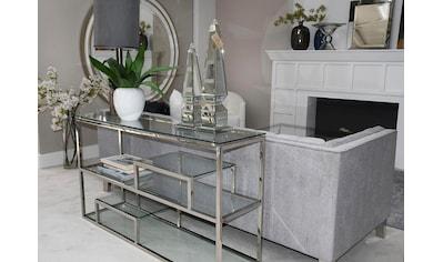 Leonique Konsolentisch »Fabi«, Mit pflegeleichter Glasplatte kaufen