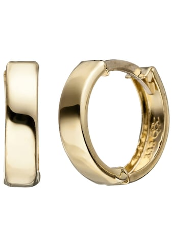 JOBO Paar Creolen, rund 333 Gold kaufen