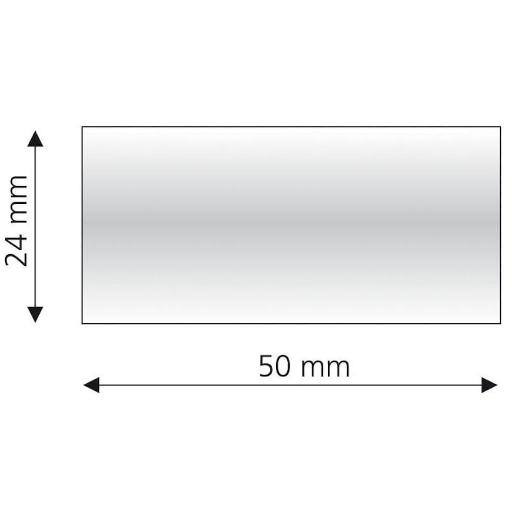 Liedeco Gardinenstangen-Endstück »Zylinder mit Rille«, für Gardinenstangen Ø 16 mm