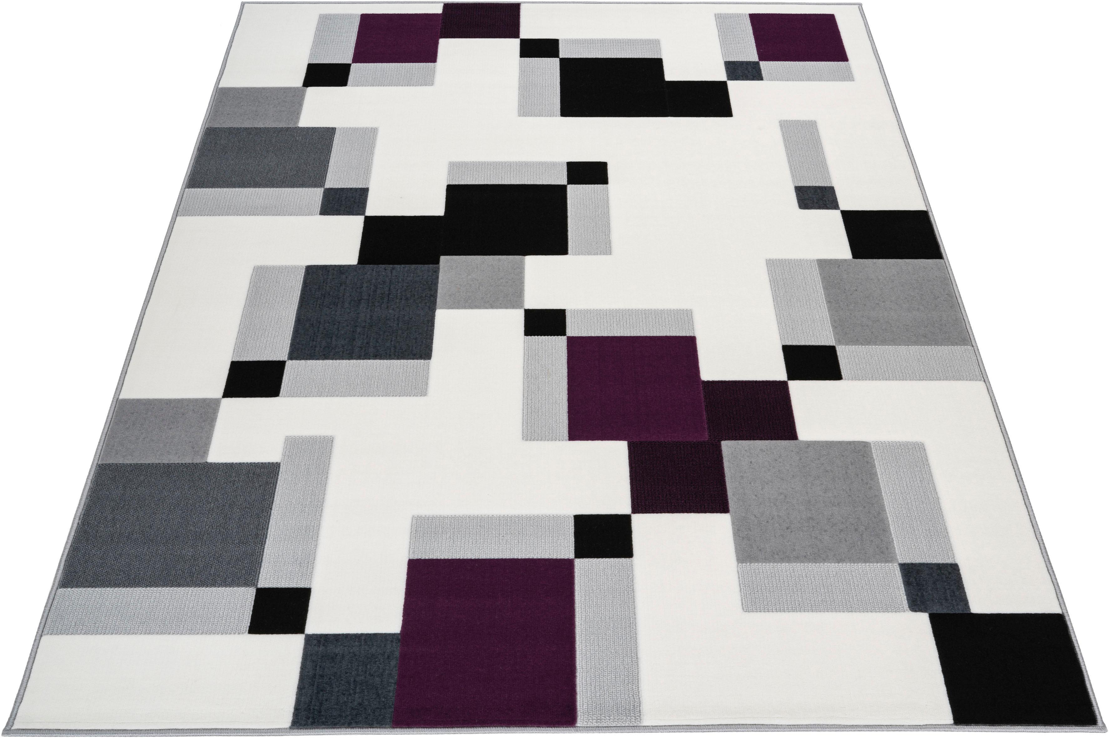 Teppich Nuve INOSIGN rechteckig Höhe 10 mm maschinell gewebt