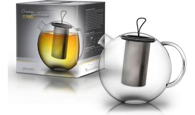 Creano Teekanne »Jumbo«, 1 l, (1), inkl. Edelstahlsieb kaufen