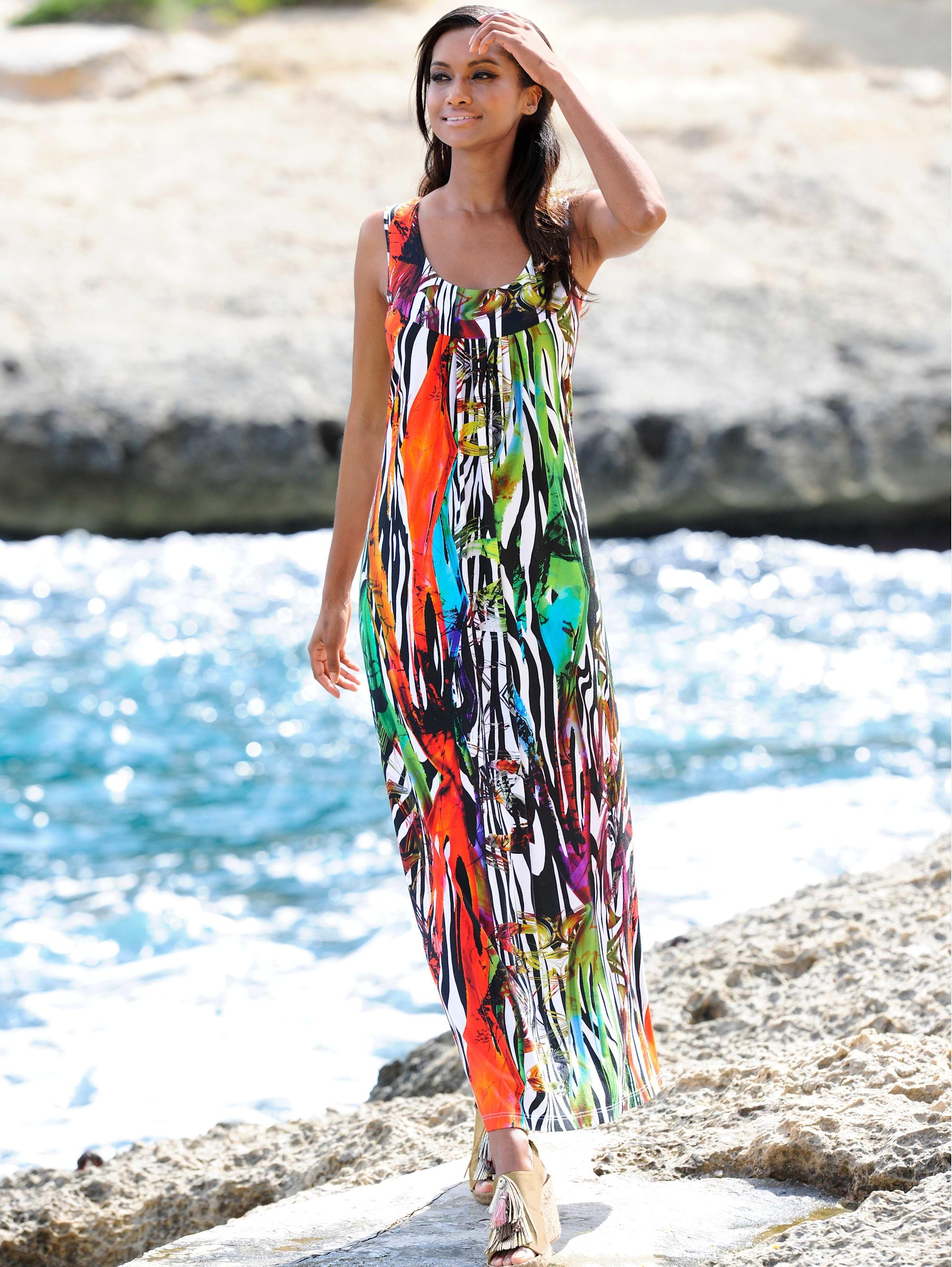 alba moda strandkleid mit großzügigem ausschnitt