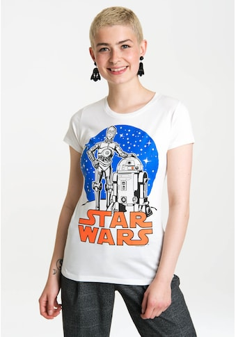 LOGOSHIRT T-Shirt mit coolem Retro-Druck kaufen