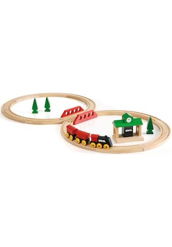 BRIO® Spielzeug-Eisenbahn »Bahn Acht Set - Classic Line«, Made in Europe, FSC®-Holz... kaufen