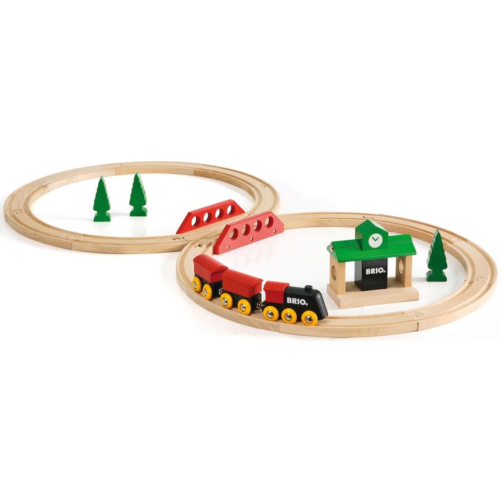 BRIO® Spielzeug-Eisenbahn »Bahn Acht Set - Classic Line«, Made in Europe, FSC®-Holz aus gewissenhaft bewirtschafteten Wäldern