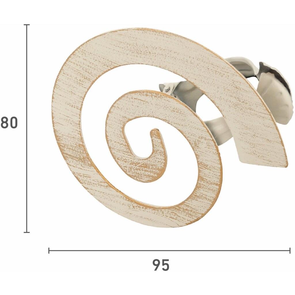 Good Life Dekoklammer für Raffhalter »Helix«, für Stoffe und Vorhänge