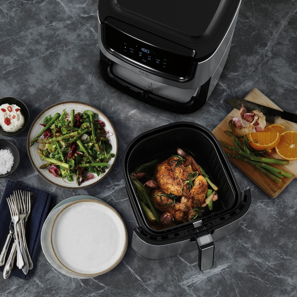 AEG Fritteuse »Gourmet 6 AF6-1-6ST«, 1800 W, Fassungsvermögen 5,4 l