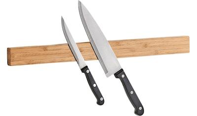 Zeller Present Wand - Magnet Messer - Leiste Bamboo (1tlg.) kaufen
