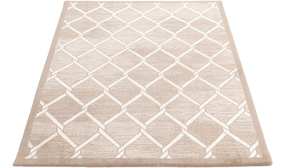 Sehrazat Teppich »Lara 700«, rechteckig, 10 mm Höhe, Hoch-Tief-Struktur, mit Glanz, Wohnzimmer kaufen
