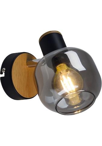 näve Wandleuchte »Fumoso«, E14, 1 St., Smoking Glas kaufen