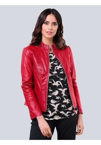 Alba Moda Lederjacke, aus hochwertigem weichem Lammnappaleder kaufen