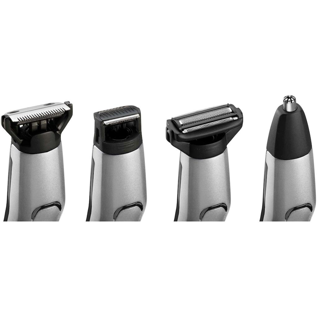 BaByliss Multifunktionstrimmer »MT861E MEN«, 11 Aufsätze, 11-in-1 Titanium Multigrooming Set für Gesicht & Körper