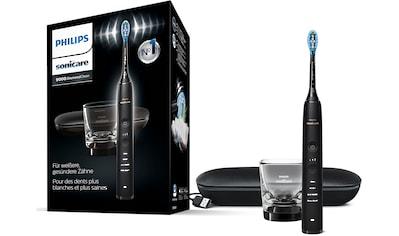 Philips Sonicare Elektrische Zahnbürste »HX9911«, 1 St. Aufsteckbürsten, DiamondClean Premium Schallzahnbürste, inkl. Ladeglas und USB-Reiseetui kaufen