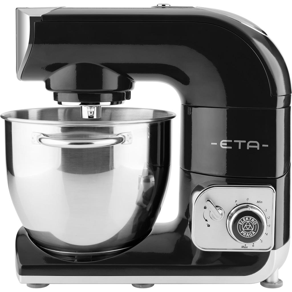 eta Küchenmaschine »Gratus Storio schwarz ETA002890064«, 1200 W, 5,5 l Schüssel, Edelstahlschüssel, PULSE – Funktion