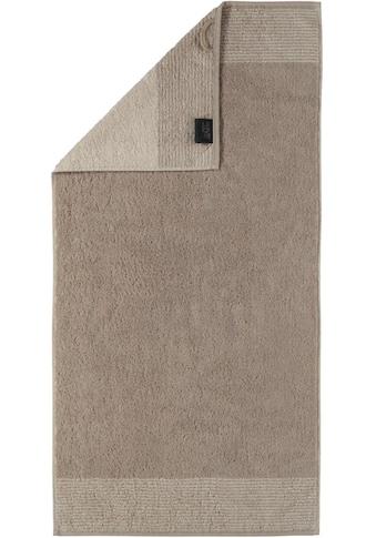 Cawö Handtücher »Two-Tone«, (2 St.), mit Wendeoptik kaufen
