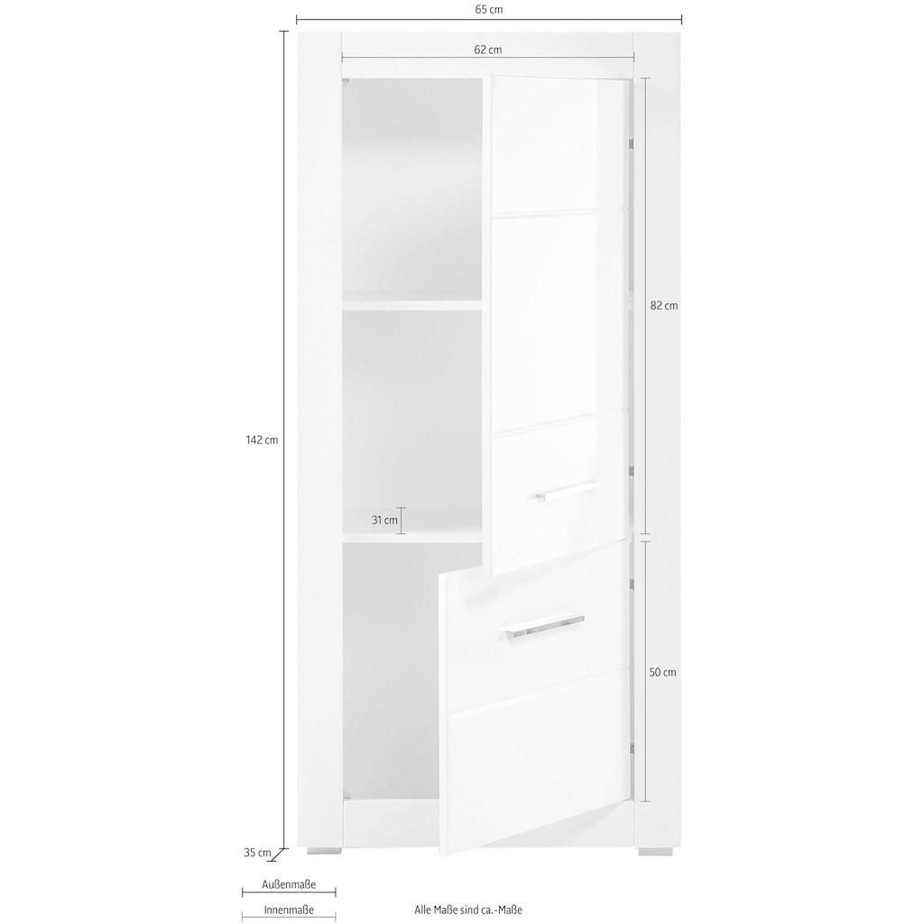INOSIGN Stauraumschrank »BIANCO«, Höhe 142 cm