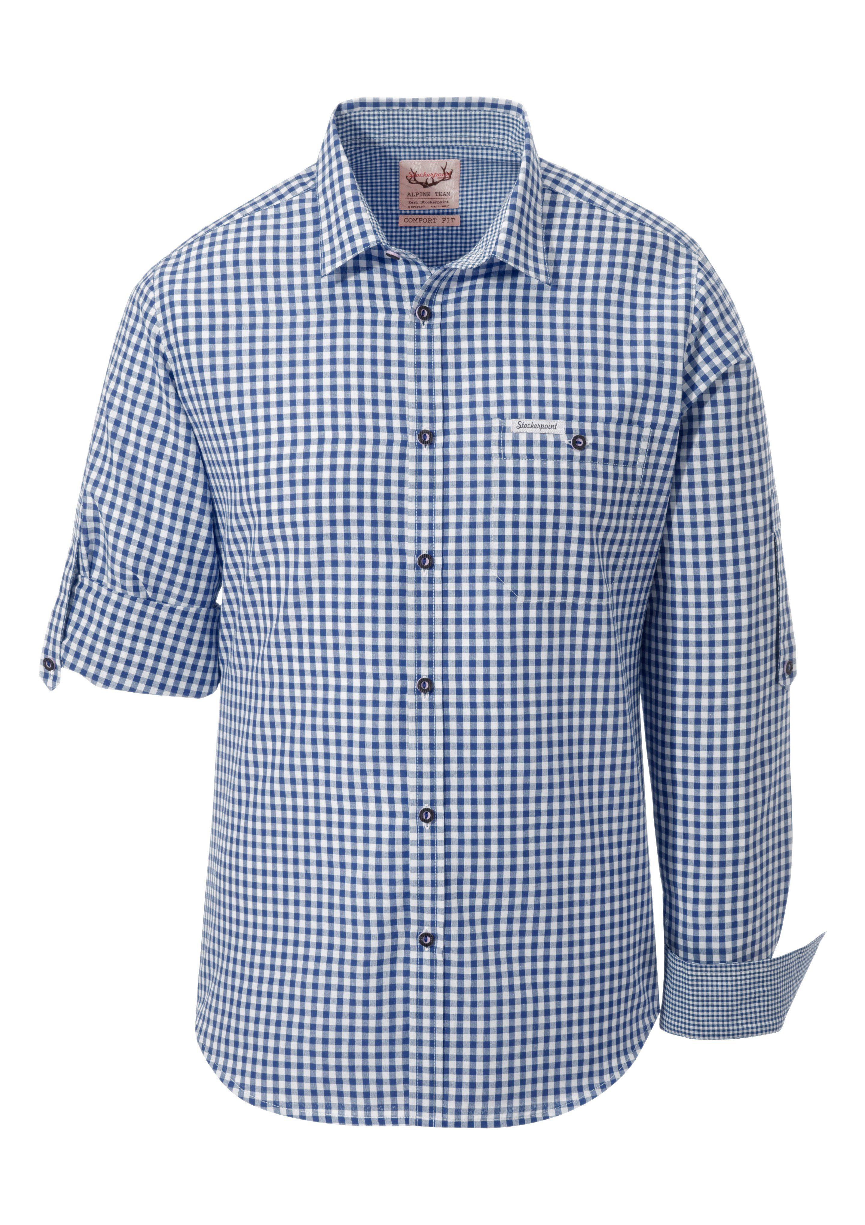 Trachtenhemd Stockerpoint | Bekleidung > Hemden > Trachtenhemden | Blau | Stockerpoint