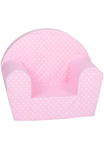 Knorrtoys® Sessel »Pink white dots«, für Kinder; Made in Europe kaufen