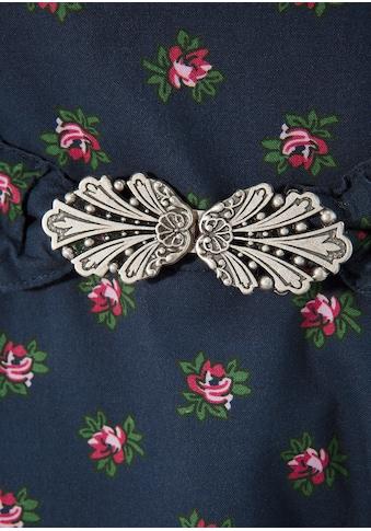 Turi Landhaus Trachtenkleid mit Rosenmotiv kaufen