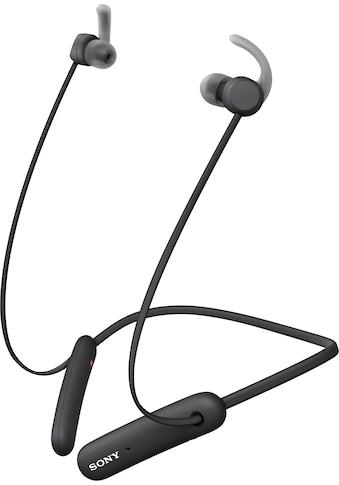 Sony In-Ear-Kopfhörer »WI-SP510 Kabelloser«, Bluetooth, kompatibel mit Siri, Google Now-Freisprechfunktion-Sprachsteuerung, Headset mit Mikrofon kaufen