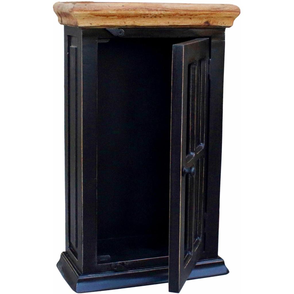 SIT Hängevitrine »Corsica«, mit einer Tür, Breite 44 cm, Shabby Chic, Vintage