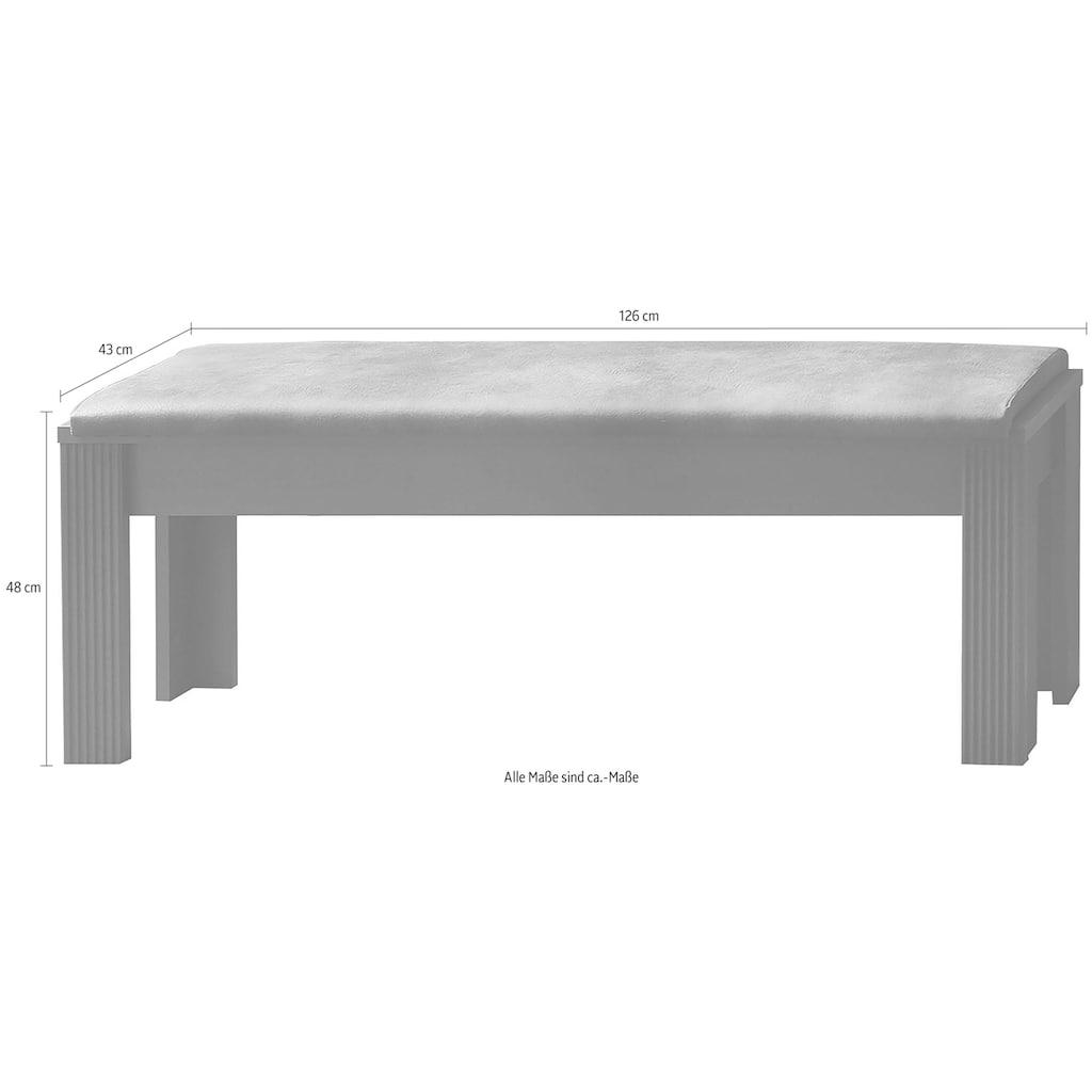 Innostyle Sitzbank »Jasmin«, Breite 126 cm