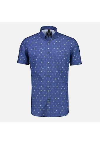 LERROS Kurzarmhemd, mit Alloverprint auf wertiger Baumwollqualität kaufen