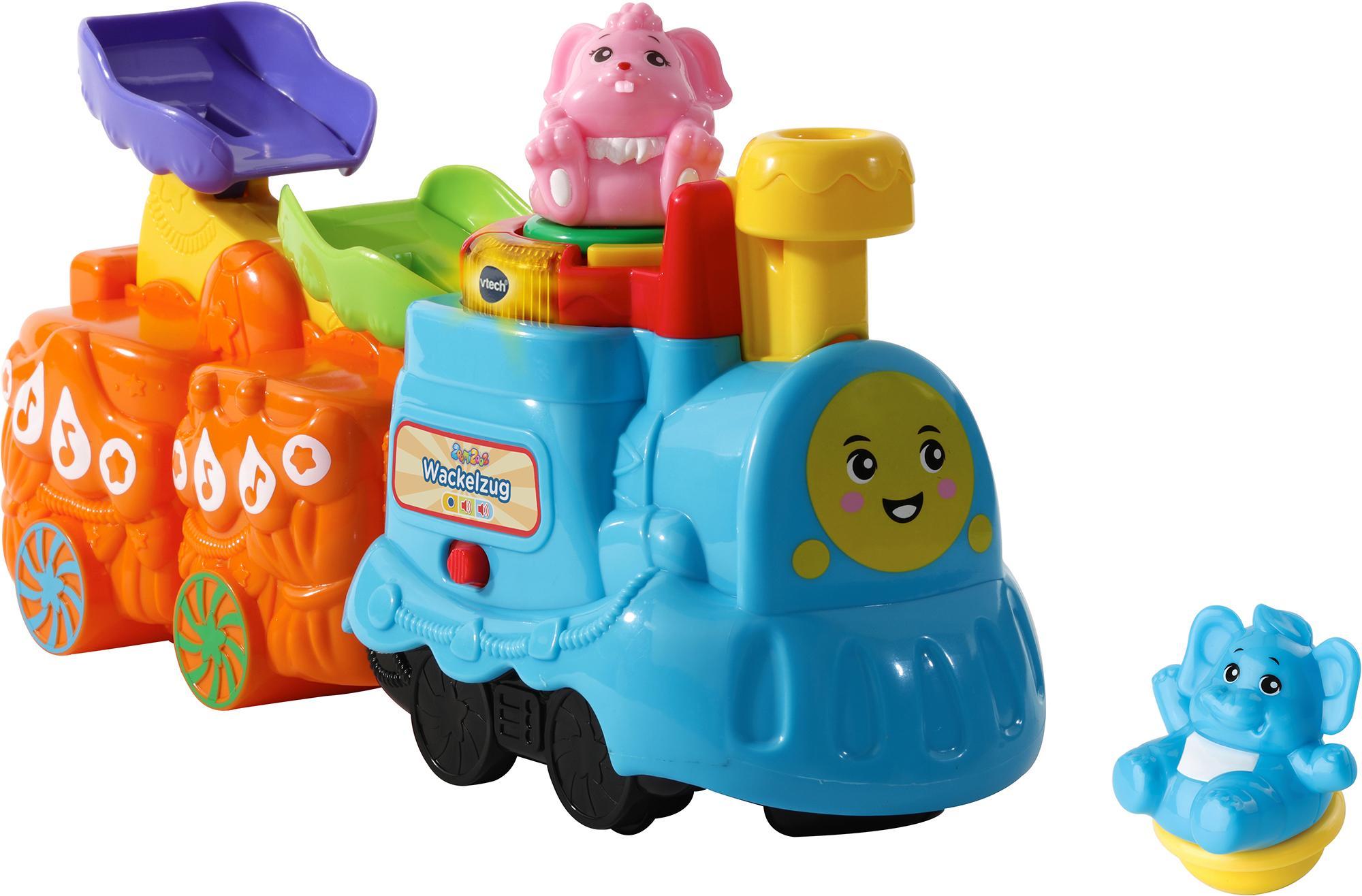 """Vtech Spielzeug-Eisenbahn """"ZoomiZooz - Wackelzug"""" Technik & Freizeit/Spielzeug/Altersempfehlung/Ab 12 Monaten"""