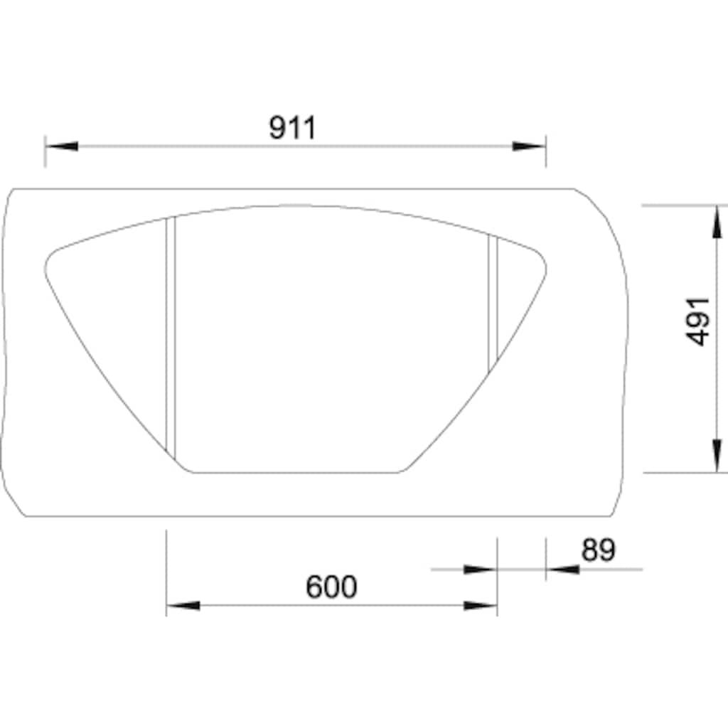 Blanco Küchenspüle »LANTOS 9 E-IF«