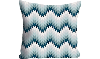 queence Kissenhülle »Blau & Weiß Muster«, (1 St.) kaufen