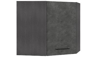 HELD MÖBEL Eckhängeschrank »Tulsa«, 60 cm breit, 1 Tür, schwarzer Metallgriff,... kaufen