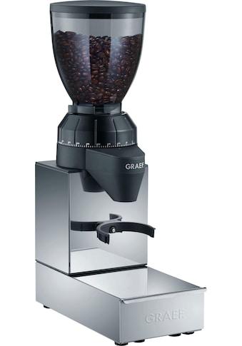 Graef Kaffeemühle CM 850 mit integrierter Ausklopfschublade, Edelstahl, Kegelmahlwerk kaufen