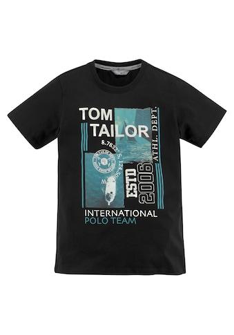 TOM TAILOR Polo Team T - Shirt »TEAM INTERNATIONAL« kaufen
