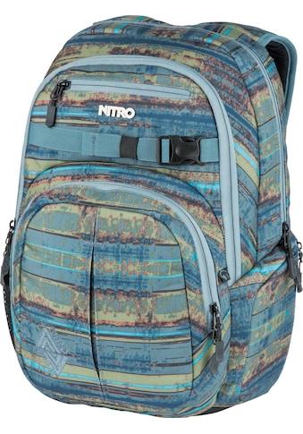 NITRO Schulrucksack »Chase, Frequency Blue« kaufen