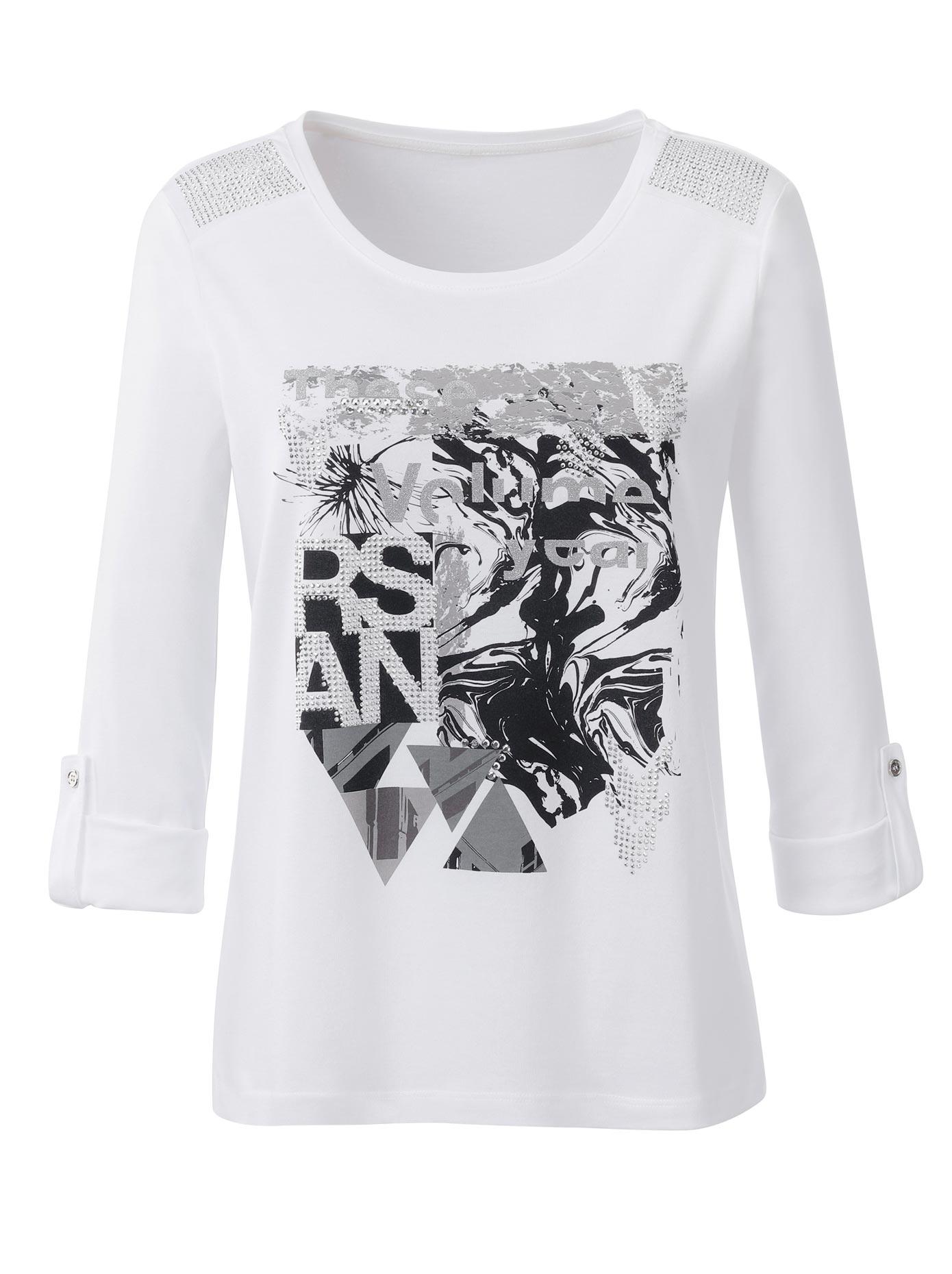 inspirationen - Classic  Shirt mit effektvollem Druck