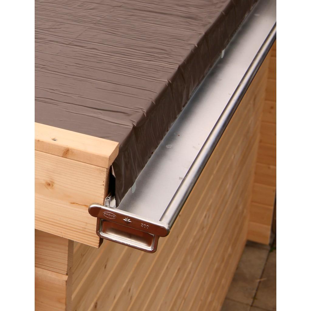 Wolff Dachrinne, Alu, für Flach- und Pultdach bis 300 cm