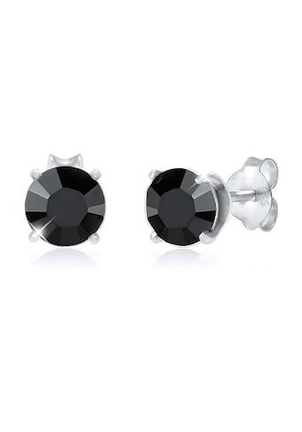Kuzzoi Paar Ohrstecker »Basic Stecker Geo Kristalle 925 Silber« kaufen
