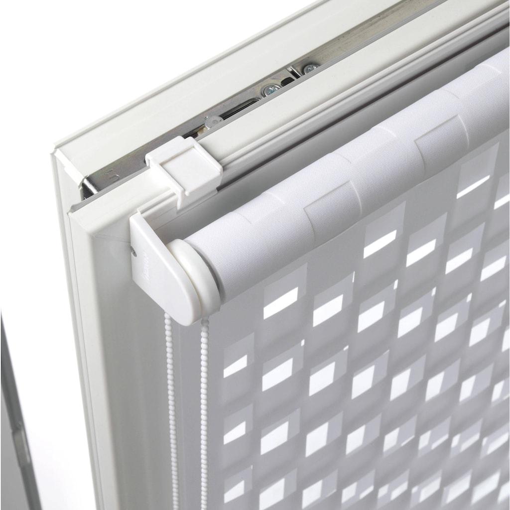 GARDINIA Doppelrollo »EASYFIX Doppelrollo Cut-Out Kreis«, Lichtschutz, ohne Bohren, im Fixmaß