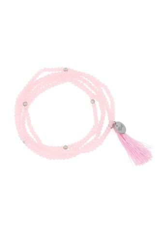 SURI FREY Armband »Glory Rosa«, Glasperlen rosa mit Tassel rosa & rhodinierten... kaufen